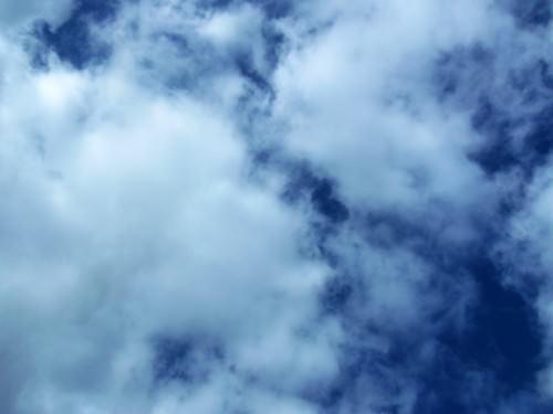 Entry for blue: 'lovely sky'