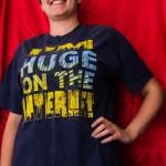 i'm huge on the internet t-shirt