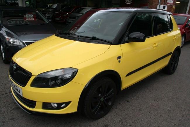 yellow-skoda-fabia