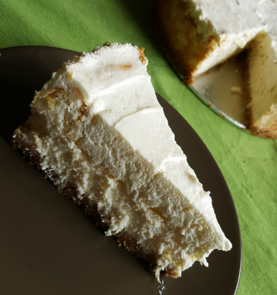 gluten free lemon mousse cheesecake